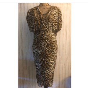 Ashley Stewart Animal Print Dress(NWT)